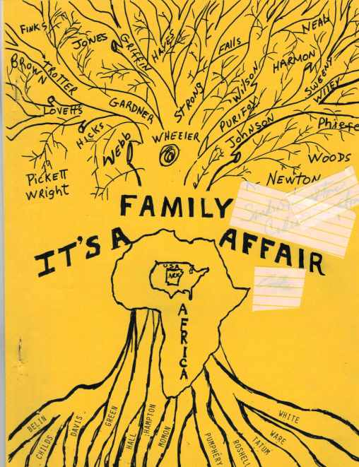 FR Family Tree Book Cover