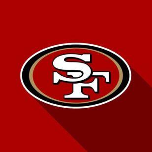 49er Logo spotlight
