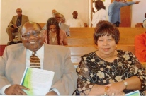 Sandra and Codis at church