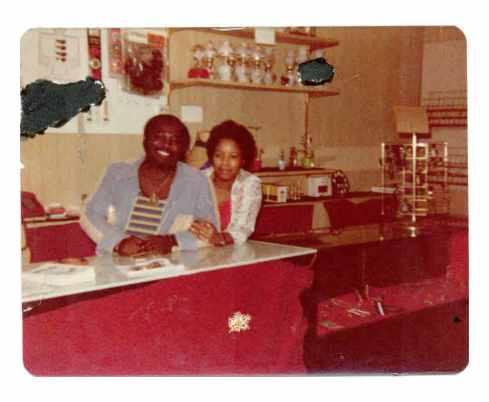 Codis & Sandra at Katara-Rhythm Gift & Record store