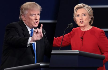 trump-clinton-at-debate
