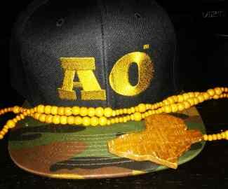 Camo AO Cap with Africa